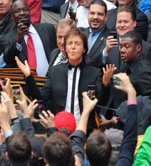 Paul McCartney Times Square