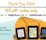 Amazon FAA Kindle