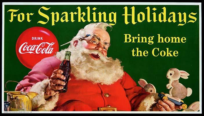 Coca Cola Babbo Natale.Babbo Natale Un Invenzione Della Coca Cola Contrordine