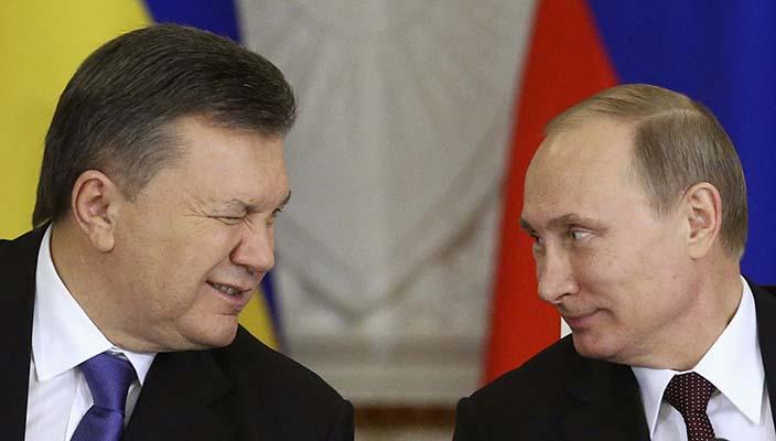 Accordo tra Yanukovich e Putin