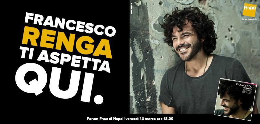 Francesco Renga alla Fnac di Napoli