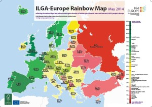 La classifica stilata da Ilga Europe