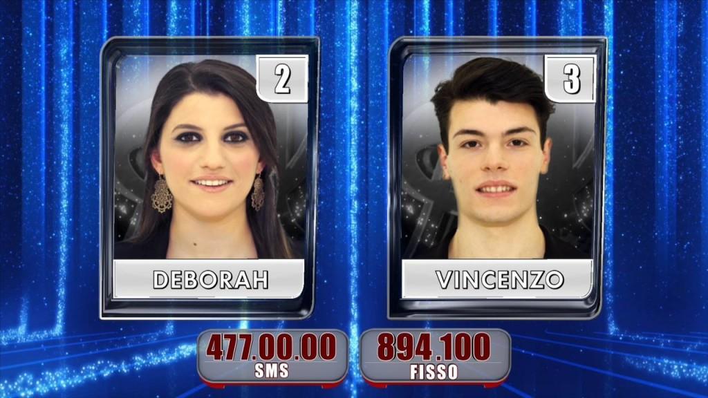 Amici 13 Finale Deborah vs Vincenzo