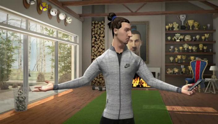 frequentemente interpersonale Fare  Pubblicità Nike. Ecco i corti animati con Zlatan Ibrahimović - Contrordine