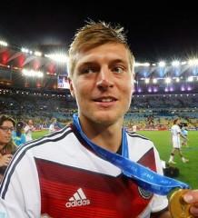 Toni Kroos al Real Madrid