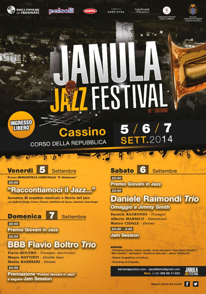 janula jazz festival locandina