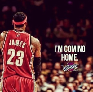 Lebron James torna a Cleveland