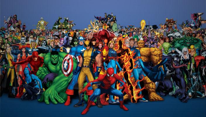 fumetti eroi