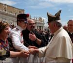 Udienza generale di Papa Francesco per la scuola militare Nunziatella