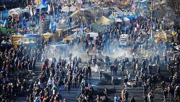 Ucraina scontri e violenza