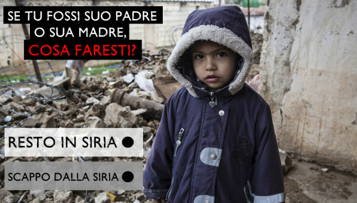 Save The Children Roma Siria