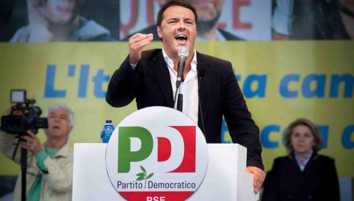 Renzi vittoria renziani
